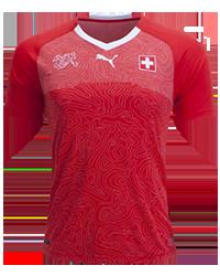 Ελβετία φανέλα Μουντιάλ