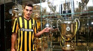 Παίκτης της ΑΕΚ ο Χριστοδουλόπουλος